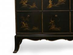 Art Deco Chinoiserie Mirrored Top Chest of Drawers - 1162975