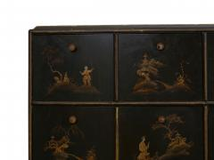 Art Deco Chinoiserie Mirrored Top Chest of Drawers - 1162976