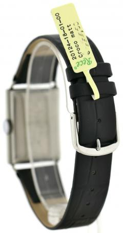 Art Deco Chrome Gents Wristwatch Old Stock Never Worn Newly Serviced 1930 - 1162715