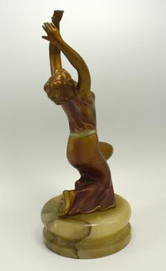 Art Deco Cold Painted Figural Dancer Circa 1930 - 1106070