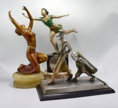 Art Deco Cold Painted Figural Dancer Circa 1930 - 1106075
