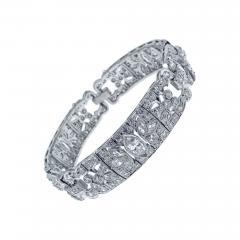 Art Deco Diamond Bracelet - 1019067