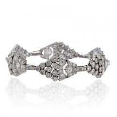 Art Deco Diamond and Platinum Bracelet - 233808