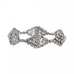 Art Deco Diamond and Platinum Bracelet - 234163