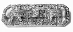 Art Deco Diamond and Platinum Brooch C 1925 - 2081408