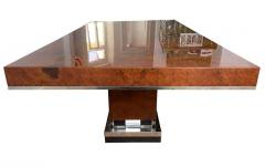 Art Deco Dining Room Table Walnut Roots Southern France circa 1930 - 1488042