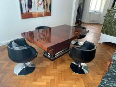 Art Deco Dining Room Table Walnut Roots Southern France circa 1930 - 1488044