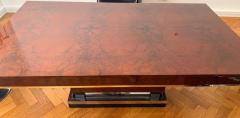 Art Deco Dining Room Table Walnut Roots Southern France circa 1930 - 1488048