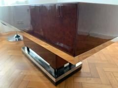 Art Deco Dining Room Table Walnut Roots Southern France circa 1930 - 1488058