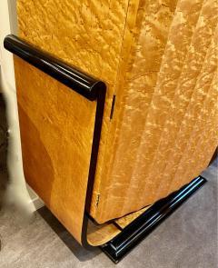 Art Deco English Hille Glamour Bar Peach Mirror - 1601164