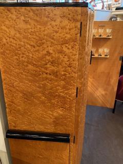 Art Deco English Hille Glamour Bar Peach Mirror - 1601166