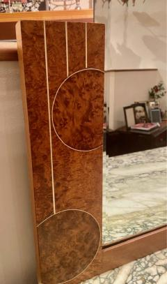 Art Deco French Custom Amboyna Burl Wood with Inlay Buffet - 1600952