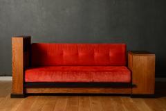 Art Deco Haagse School Cosy Corner or Sofa by Jan Brunott circa 1920 - 664269