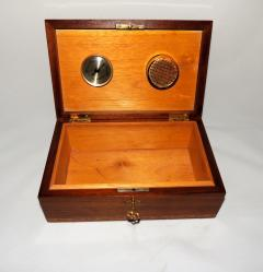 Art Deco Humidor with Intricate Inlay - 319269