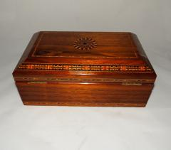 Art Deco Humidor with Intricate Inlay - 319271