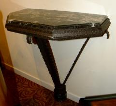Art Deco Iron French Style Console - 118238