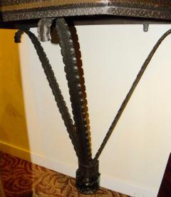 Art Deco Iron French Style Console - 118239