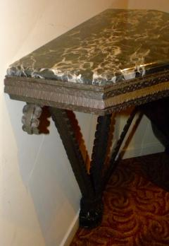 Art Deco Iron French Style Console - 118241