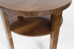 Art Deco Italian Two Tier Side Table - 1474768