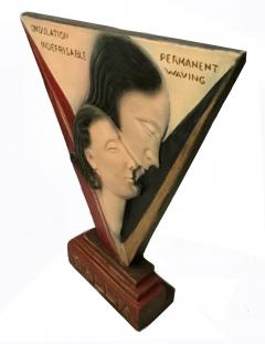 Art Deco Large Advertising Stand Circa 1930s - 1028119