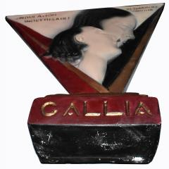 Art Deco Large Advertising Stand Circa 1930s - 1028125