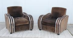Art Deco Large Club Chairs - 1754861