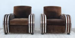 Art Deco Large Club Chairs - 1754862