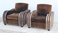 Art Deco Large Club Chairs - 1754864