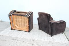 Art Deco Large Club Chairs - 1754866