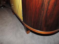 Art Deco Macassar and Pergamino Bar or Buffet Cabinet - 1387137