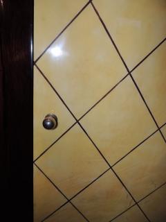 Art Deco Macassar and Pergamino Bar or Buffet Cabinet - 1387140