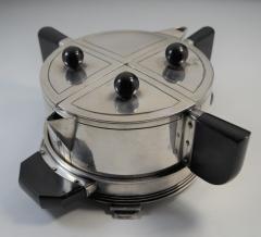 Art Deco Modern Avant Garde Tea Set by Wilcox Jean Theobald Virginia Hamill - 1154861