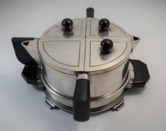 Art Deco Modern Avant Garde Tea Set by Wilcox Jean Theobald Virginia Hamill - 1154862
