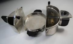Art Deco Modern Avant Garde Tea Set by Wilcox Jean Theobald Virginia Hamill - 1154869