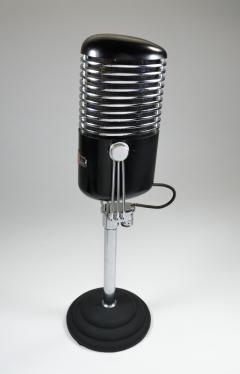 Art Deco Modernist Microphone Iconic - 385209
