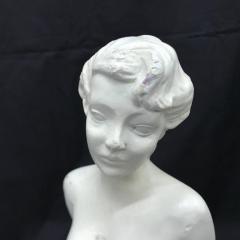 Art Deco Nude Woman Sculpture Italy circa 1930 - 712394