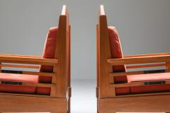 Art Deco Pair of Club Chairs Europe 1960s - 1566214