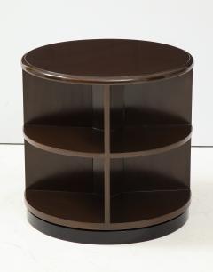 Art Deco Revolving Bookcase Side Tables - 1195669