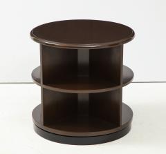 Art Deco Revolving Bookcase Side Tables - 1195671