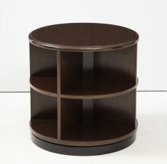 Art Deco Revolving Bookcase Side Tables - 1195673