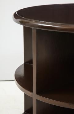 Art Deco Revolving Bookcase Side Tables - 1195674