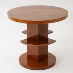 Art Deco Round Side Table - 2006388