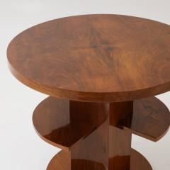 Art Deco Round Side Table - 2006389