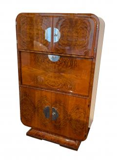 Art Deco Secretaire Walnut Veneer France circa 1930 - 1331538