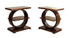 Art Deco Side Table Walnut Veneer France circa 1925 - 1612283