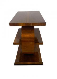 Art Deco Side Table Walnut Veneer France circa 1925 - 1612291