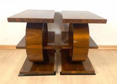 Art Deco Side Table Walnut Veneer France circa 1925 - 1612296