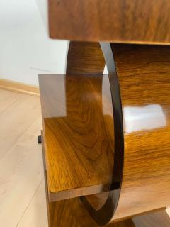 Art Deco Side Table Walnut Veneer France circa 1925 - 1612299