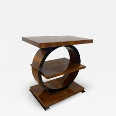 Art Deco Side Table Walnut Veneer France circa 1925 - 1612598