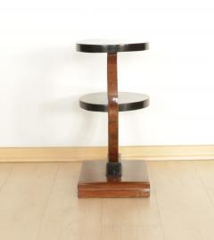 Art Deco Side Table Walnut Veneer France circa 1930 - 1074326